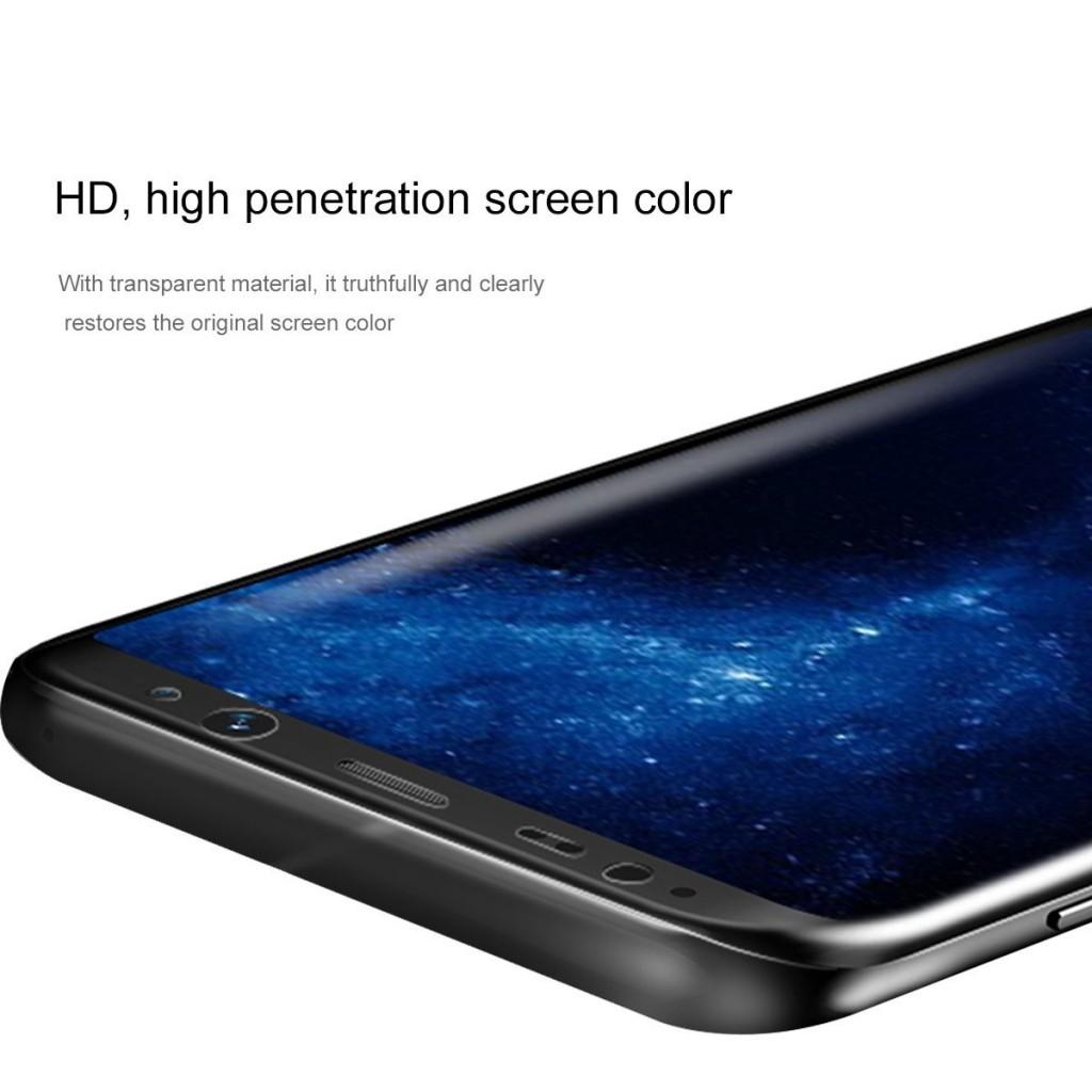3D fólie na celý displej CLEAR - Galaxy S8 Plus (S8+), set 2ks
