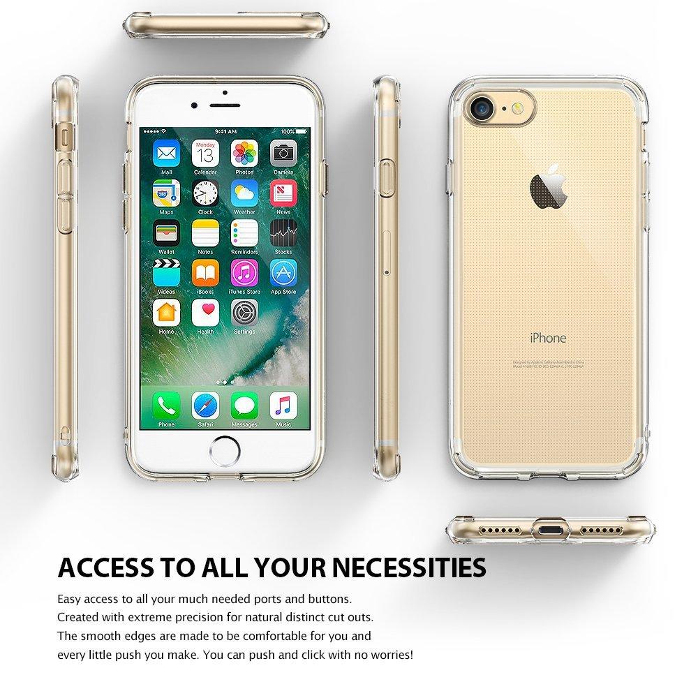 Obal Ringke Air + Fólie na displej na Apple iPhone8/7