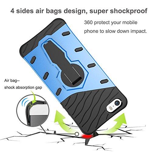 Odolný kryt SNIPER se stojánkem pro Apple iPhone SE / 5s / 5