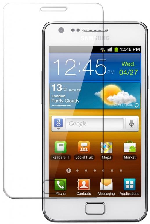 Ochranné tvrzené sklo pro Samsung Galaxy S2 / S2 PLUS