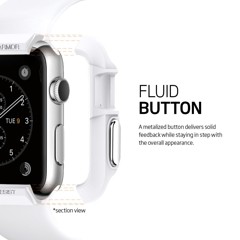 Kryt Spigen SPG Rugged Armor na Apple Watch 42mm, Series 1, 2 , 3