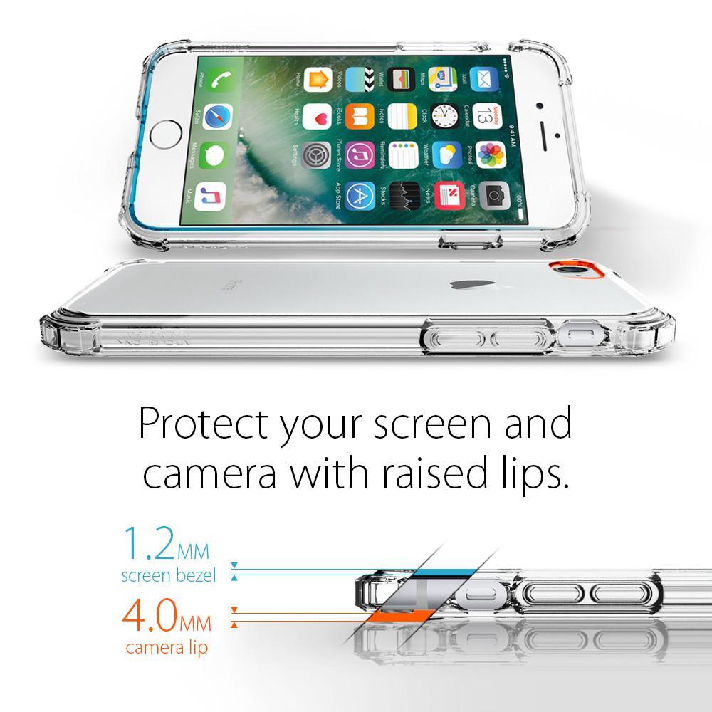 Pouzdro SPIGEN Crystal Shell pro Apple iPhone 8 / iPhone 7