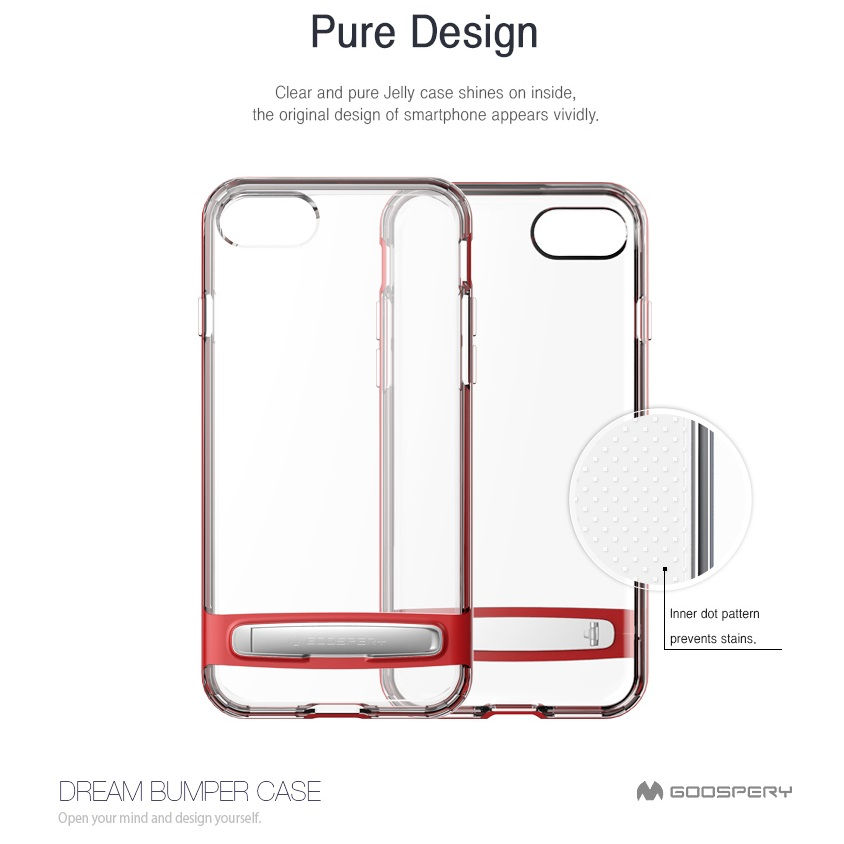 Mercury Dream Bumper pro Apple iPhone