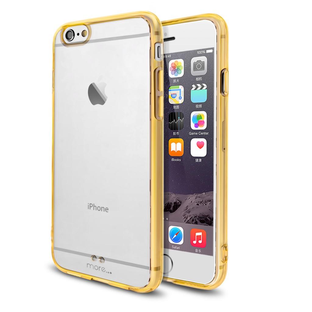 Barevný čirý kryt Ultra Slim Hybrid pro Apple iPhone 6s / 6