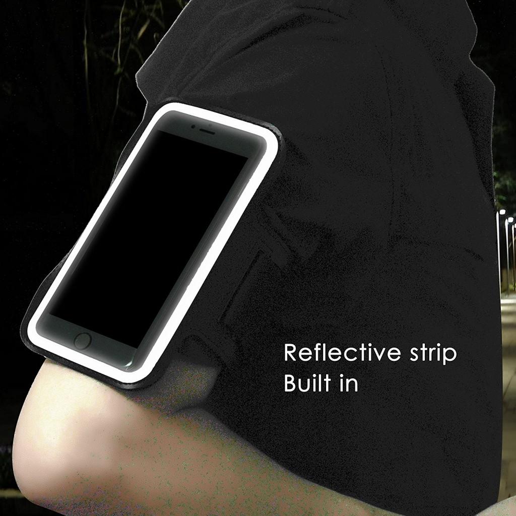 Univerzální sportovní pouzdro (ArmBand) - černé, malé