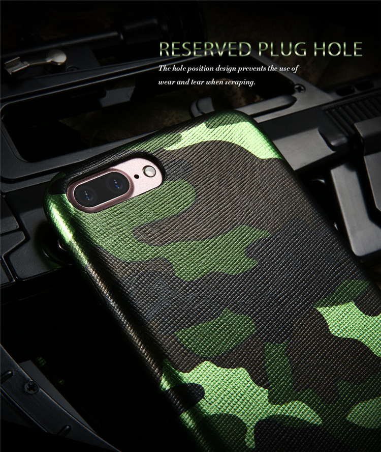 Kryt Army Camouflage pro iPhone 7 Plus