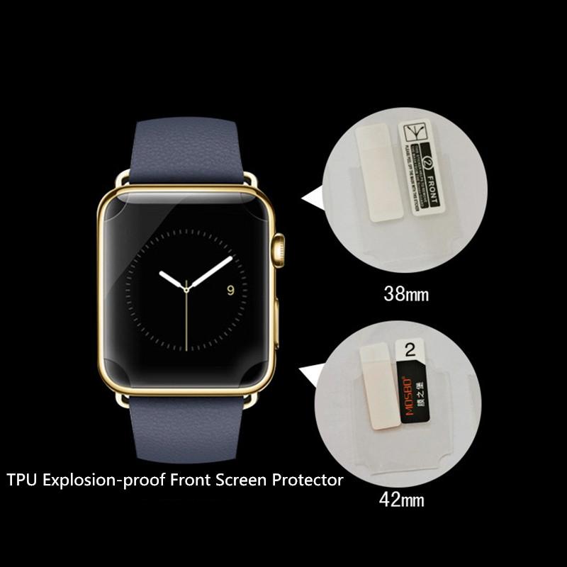 2x Kvalitní fólie FullCover Apple Watch 42mm / 38mm Series1,2,3