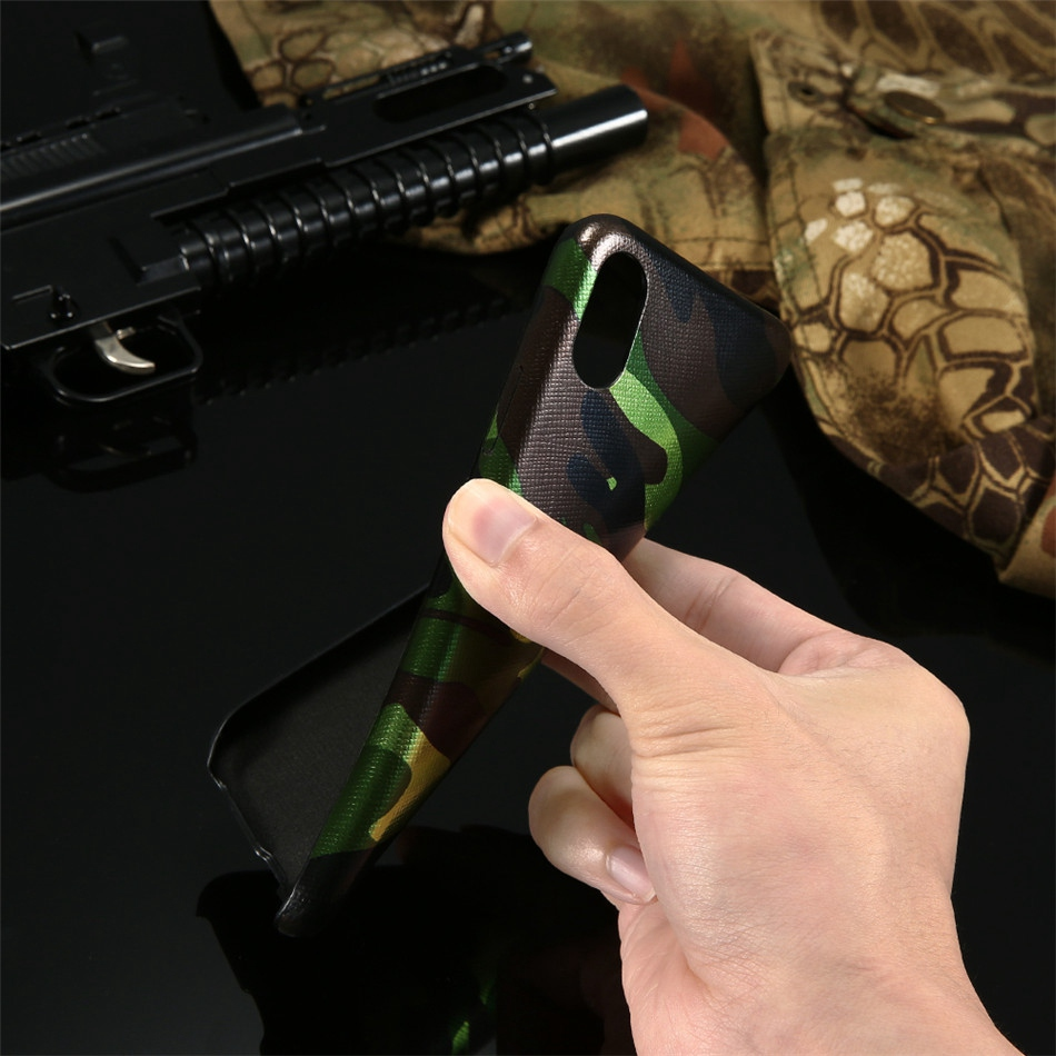 Kryt Army Camouflage pro iPhone X
