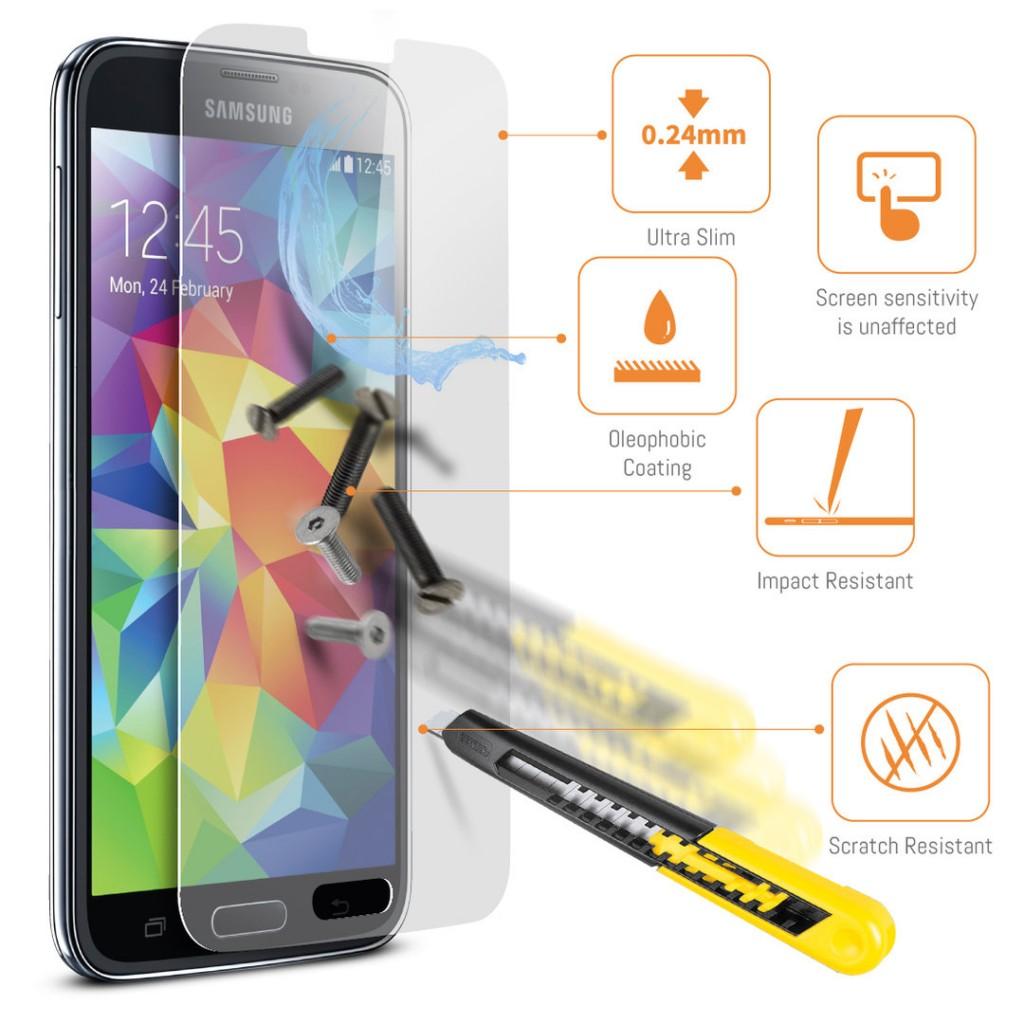 Ochranné tvrzené sklo pro Samsung Galaxy Note Edge