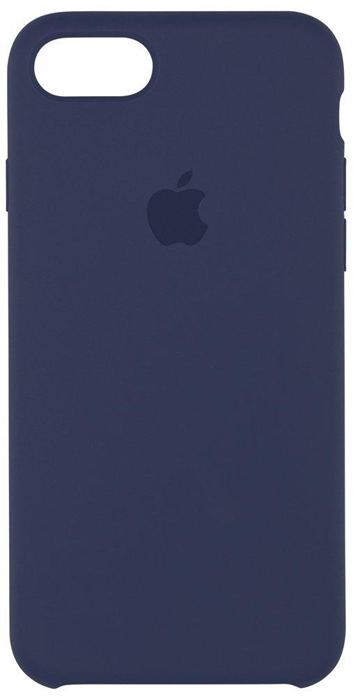 Originální silikonový kryt Apple iPhone 8 / 7 - Půlnočně modrý