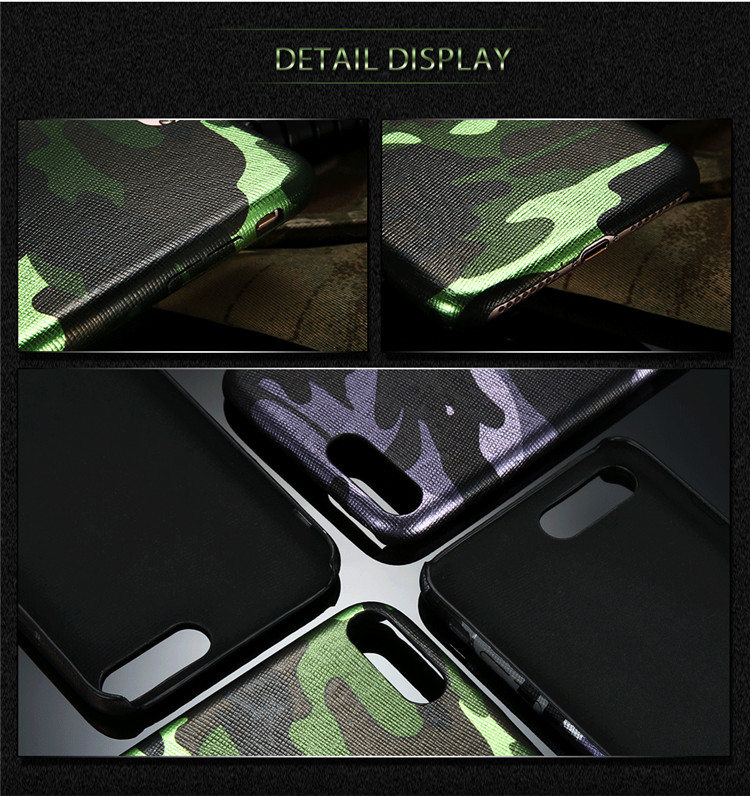 Kryt Army Camouflage pro iPhone 8 / iPhone 7