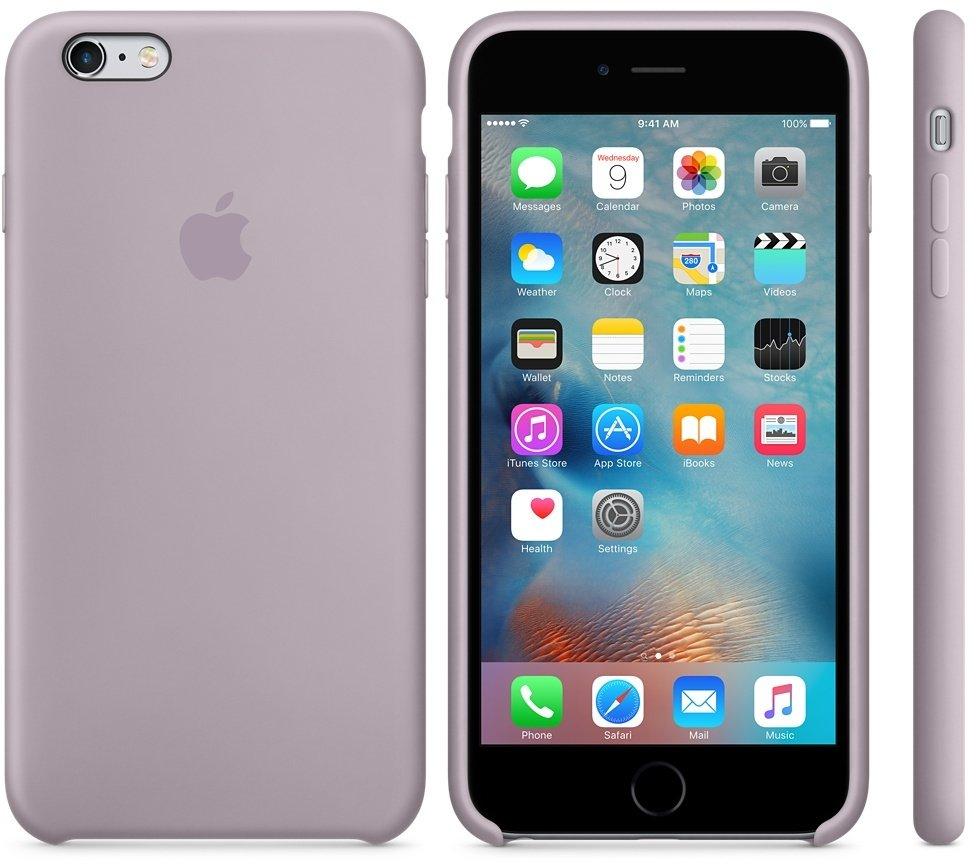 Originální silikonový kryt Apple iPhone 6s / 6 - Levandulový
