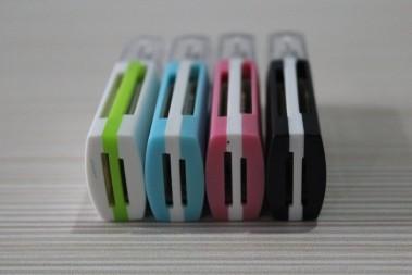 USB Čtečka paměťových karet SiyoTeam SY596 (Micro SD, SD,M2, MMC)