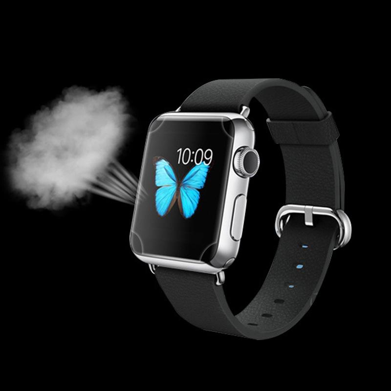 2x Kvalitní fólie FullCover na Apple Watch / Series 1, 2 (42mm)
