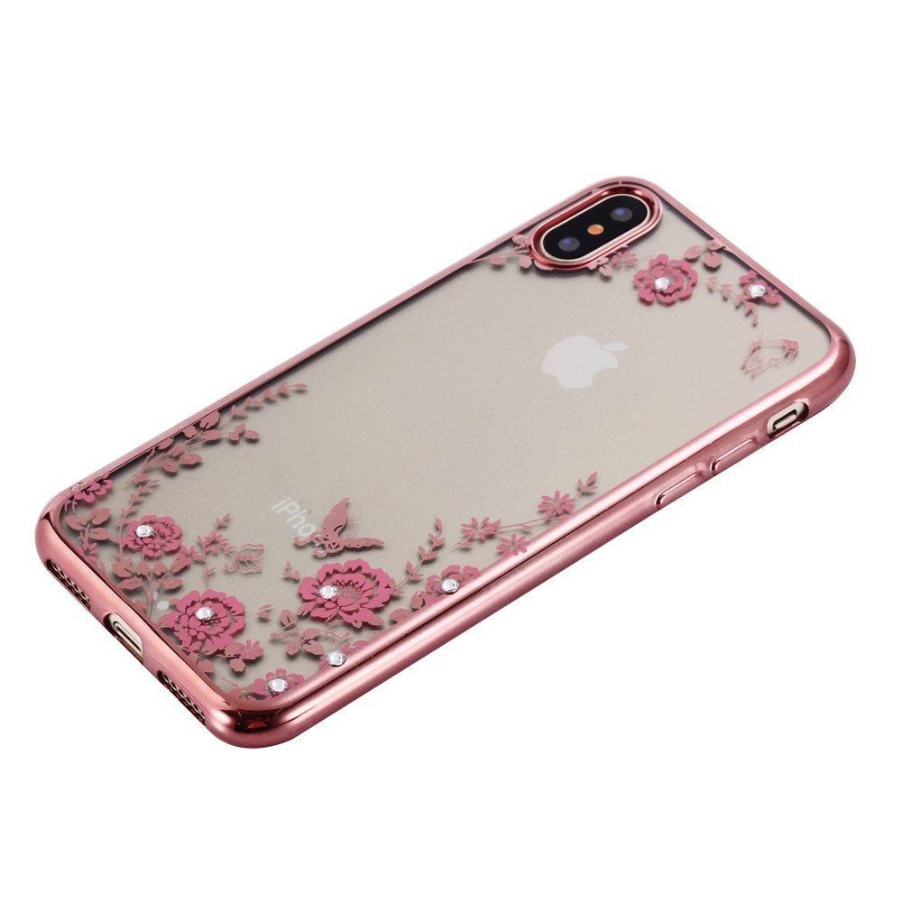 Obal / kryt Flower Garden pro Apple iPhone X