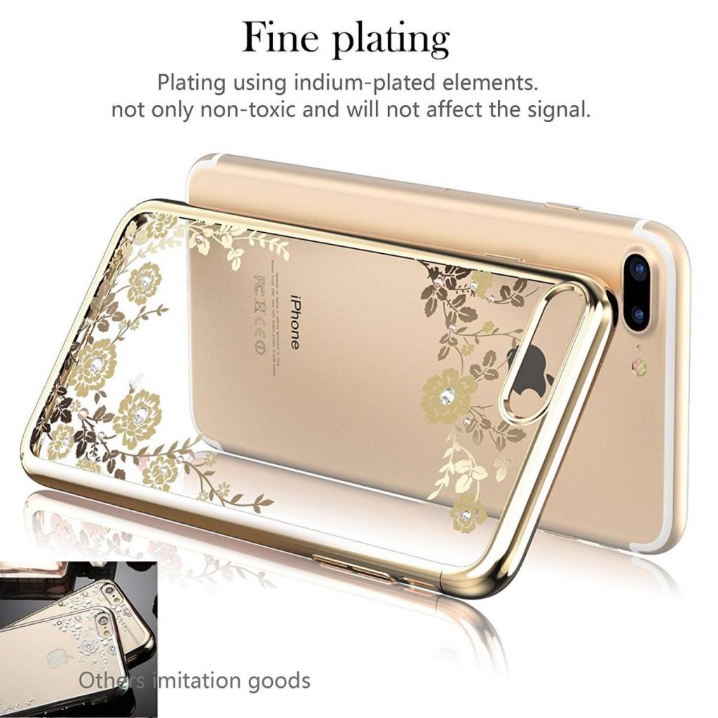 Obal / kryt Flower Garden pro iPhone SE / 5s / 5