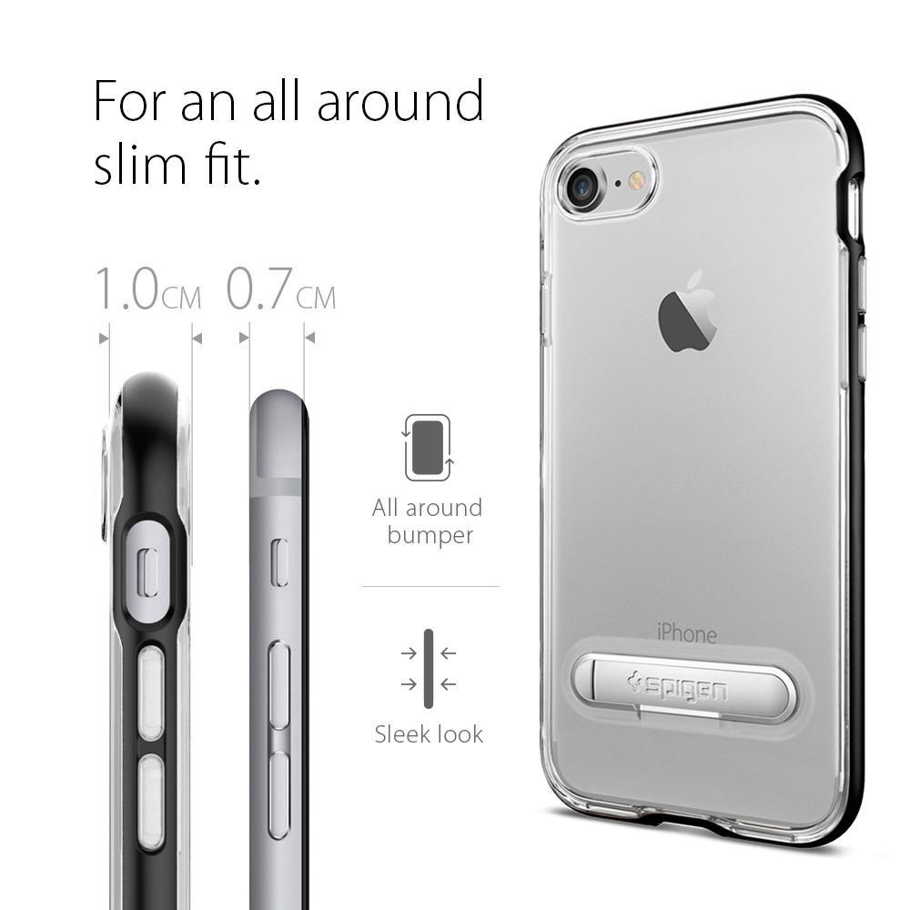 Pouzdro SPIGEN Crystal Hybrid pro Apple iPhone 8 / iPhone 7