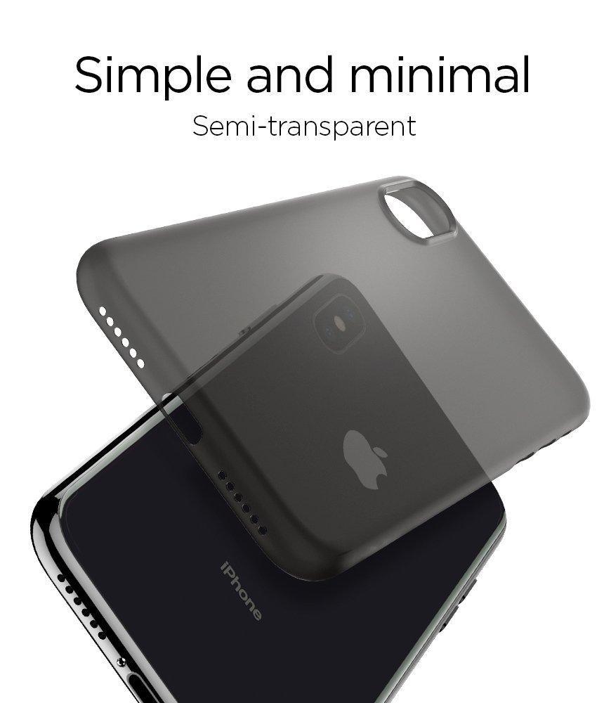 Ultra tenký kryt Spigen Air Skin pro Apple iPhone X