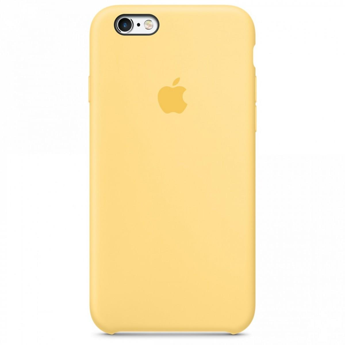 Apple silikonovy kryt pro iphone 6 6s sedy - Cochces.cz 79430b45061
