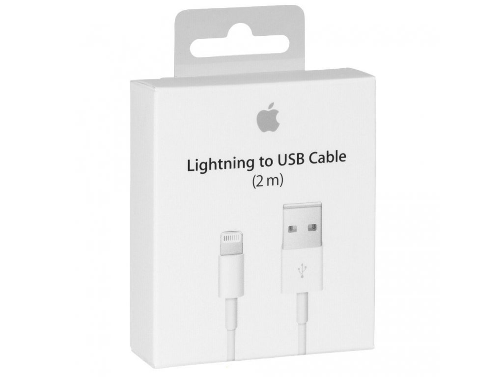 Apple USB kabel s konektorem Lightning 2m MD819ZM/A