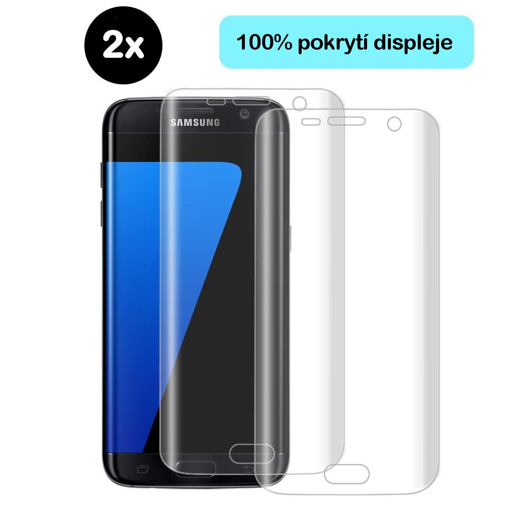 Ochranná fólie Azuri Samsung Galaxy S7 Edge, 2ks
