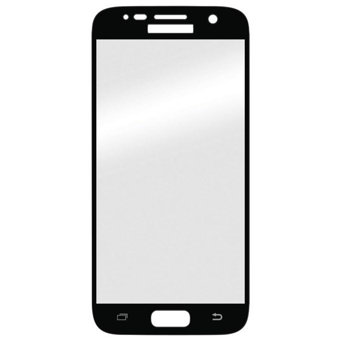 3D ochranné sklo Carbon Fiber na displej Samsung Galaxy S7 - Černé