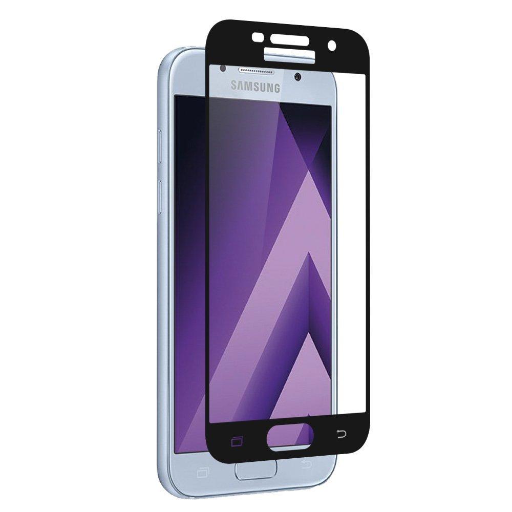Tvrzené sklo FullCover na displej - Galaxy A5 (2017), černé