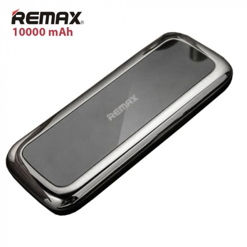 Luxusní Externí baterie / Power Banka Remax MIRROR - 10 000 mAh, Černá