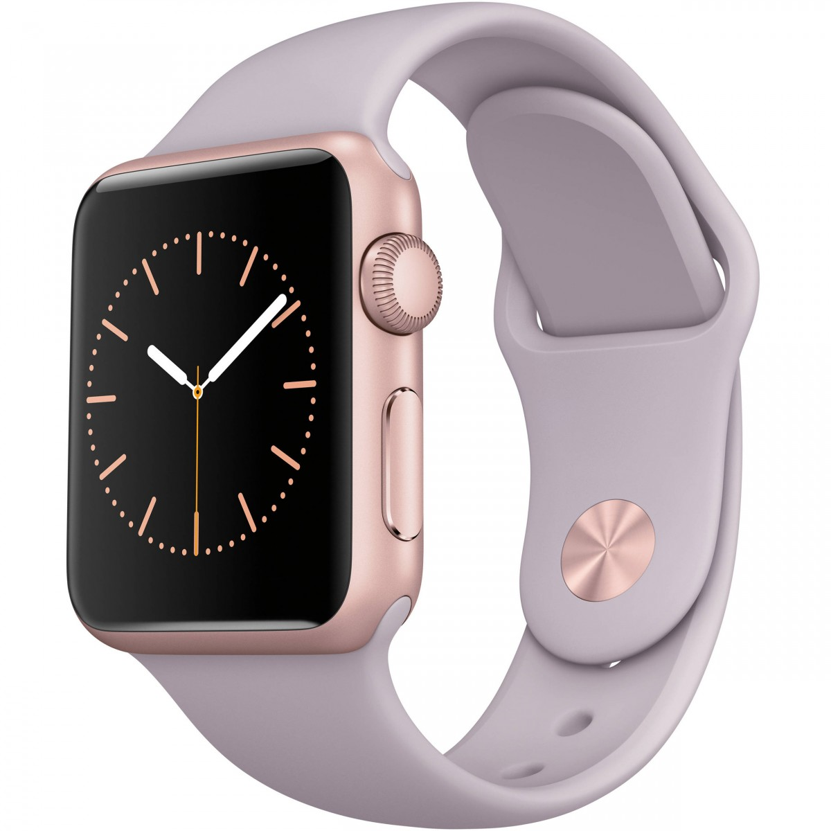 Řemínek SmoothBand pro Apple Watch Series 3 2 1 42mm - Levandulový 616b8b558fe