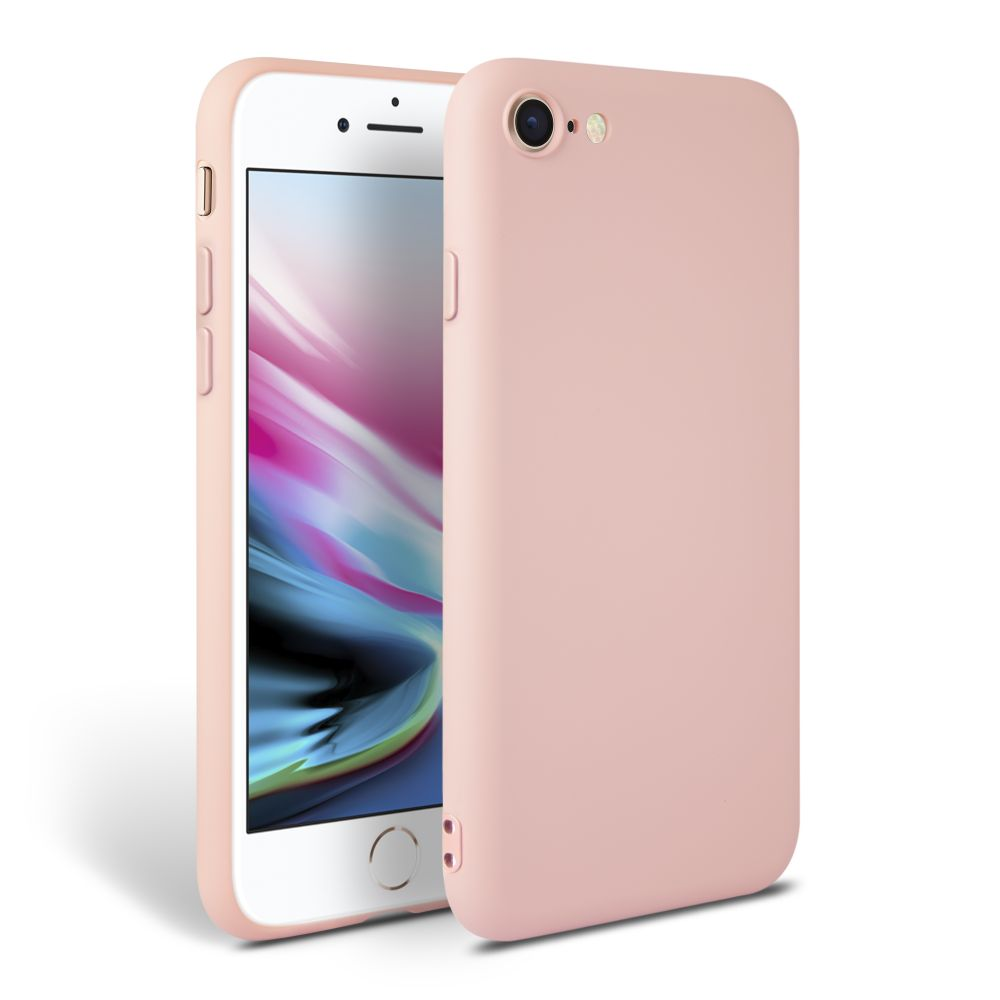 Pouzdro Tech-Protect Icon iPhone 7/8/SE 2020 - Růžový
