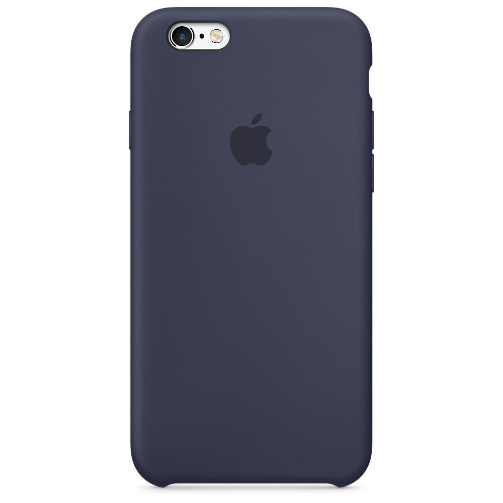 Originální silikonový kryt Apple iPhone 6s / 6 - Půlnočně modrý