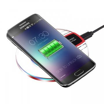 Univerzální bezdrátová nabíjecí podložka FANTASY + micro USB kabel