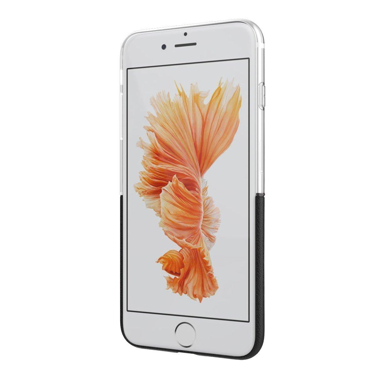 Elegantní kryty DOUBLE pro mobily Apple iPhone - pro iPhone 6s/6 (černý)