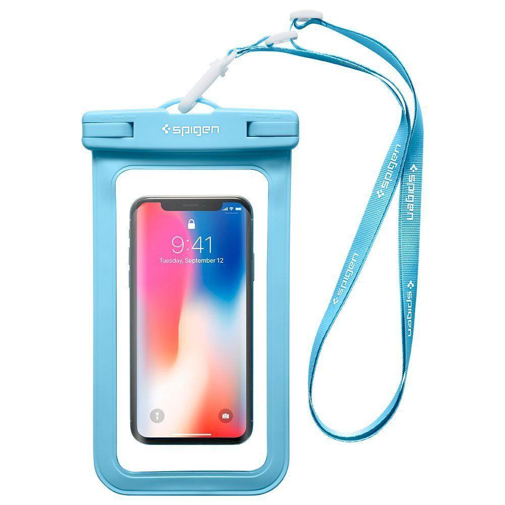 Pouzdro Spigen Velo A600 Waterproof Phone - Modré