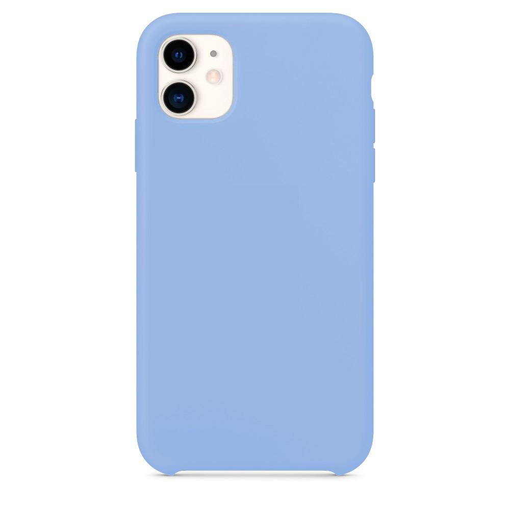 Pouzdro iMore Silicone Case iPhone 11 - Šeříkový