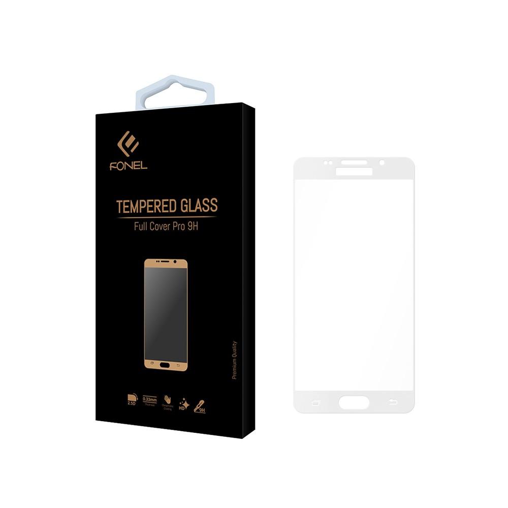 Tvrzené ochranné sklo FullCover na celý displej Samsung Galaxy A3 (2016) A310