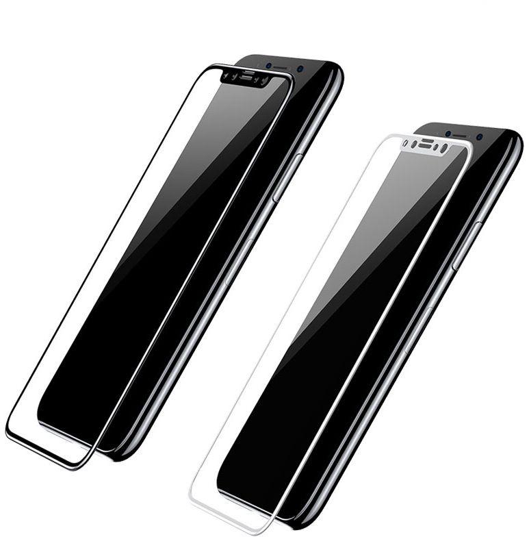 3D sklo Carbon Fiber na celý displej iPhone X