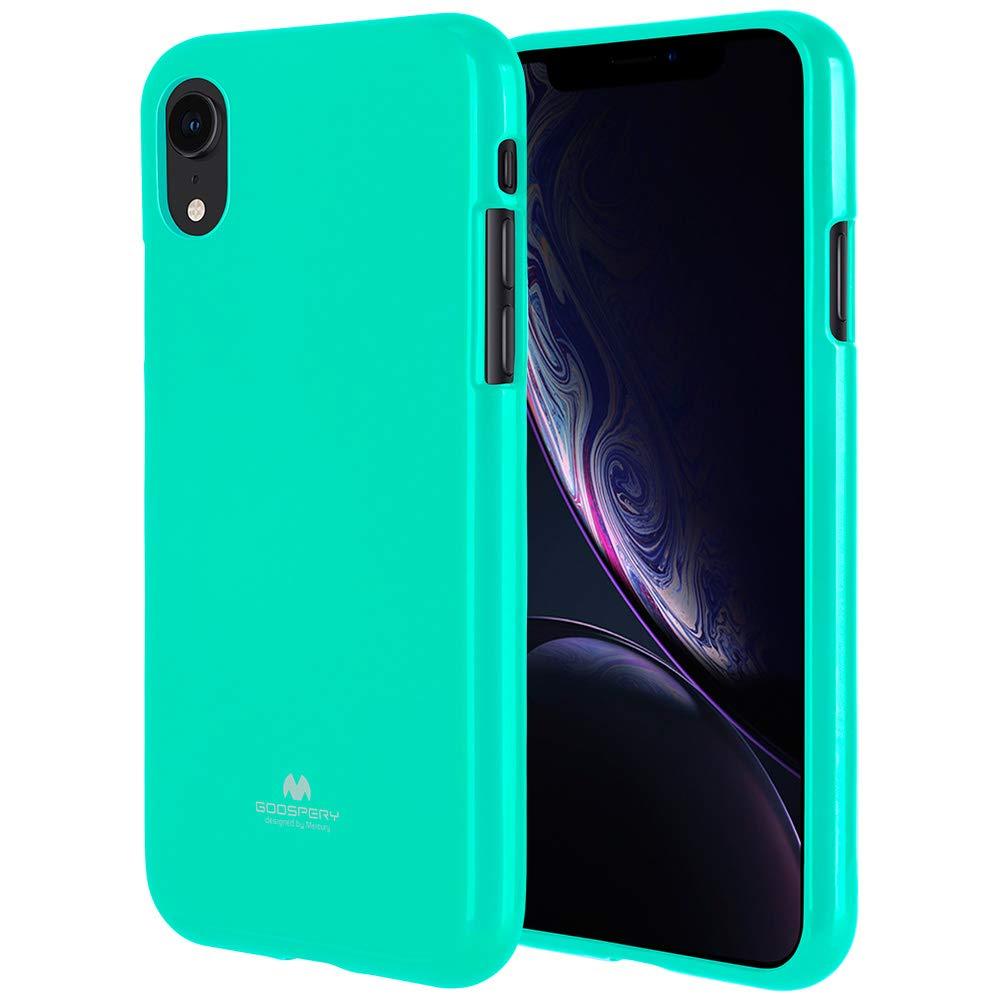 Pouzdro Mercury Pearl Jelly Case iPhone XR - Mint