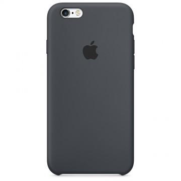 Originální silikonové pouzdro Apple iPhone 6s Plus / 6 Plus - Uhlově šedé