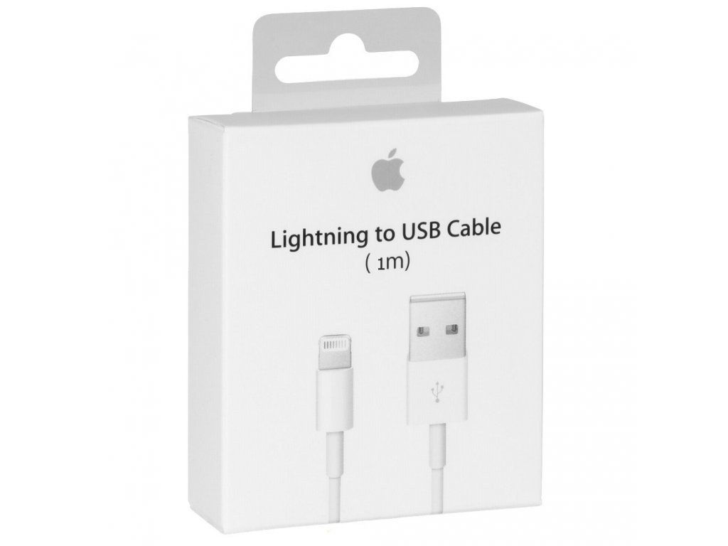 Apple USB kabel s konektorem Lightning 1m MD818ZM/A