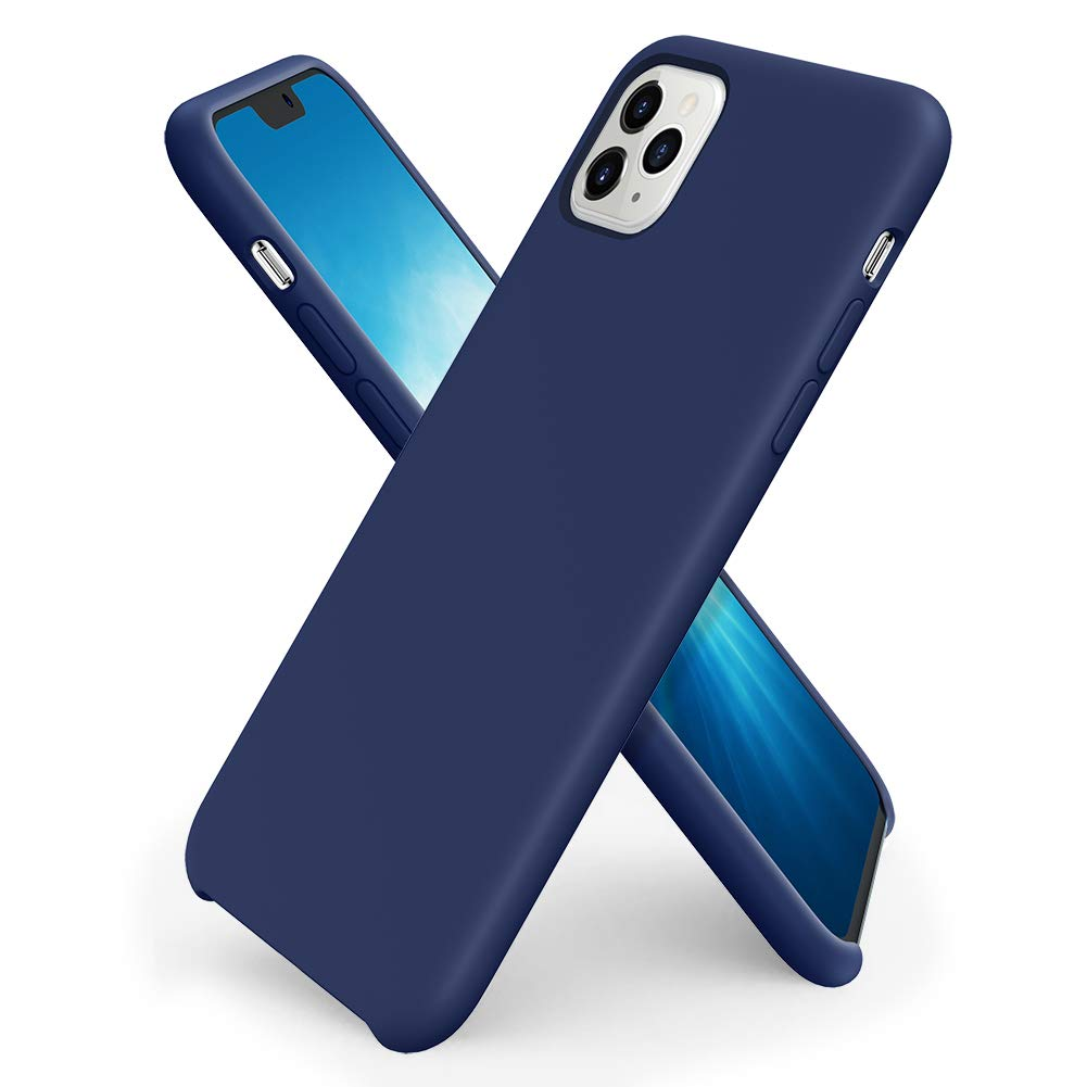Pouzdro iMore Silicone Case iPhone 11 Pro - Kobaltově modrý