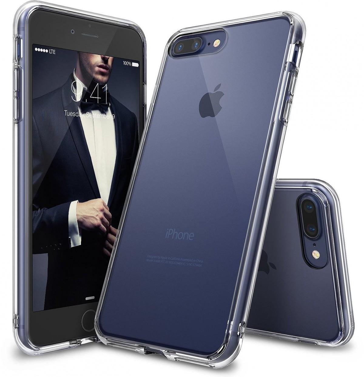 Průhledný čirý obal / kryt na iPhone 7 Plus