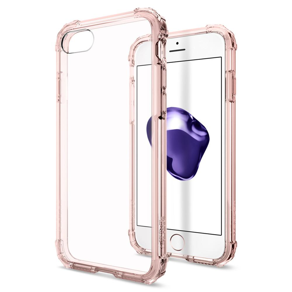 Pouzdro SPIGEN Crystal Shell pro Apple iPhone 8 / iPhone 7 - Rose Crystal