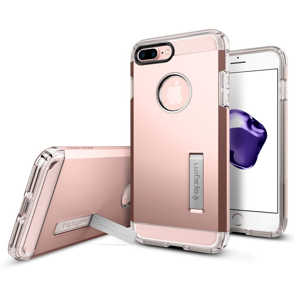 Obal SPIGEN Tough Armor pro Apple iPhone 8 Plus / 7 Plus - Rose Gold