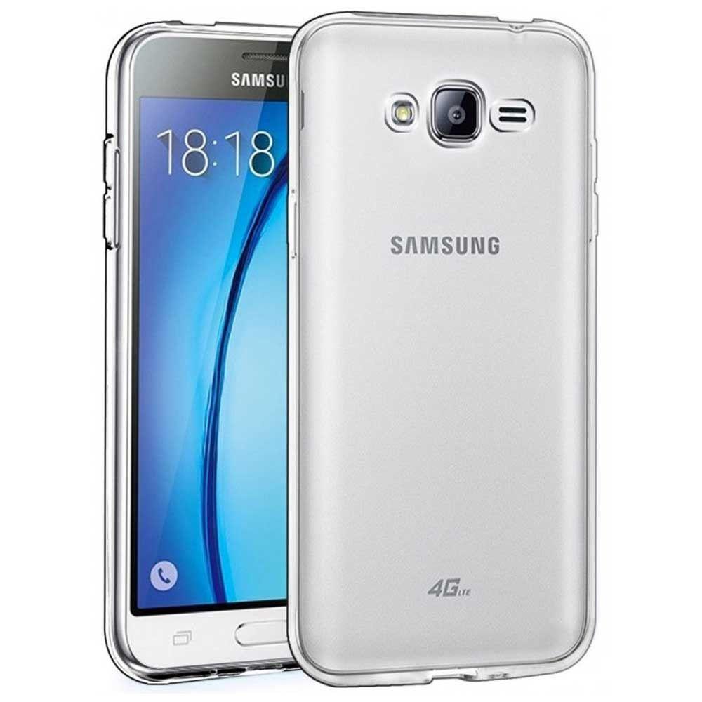 Silikonový obal / kryt Goospery Mercury pro Samsung Galaxy J3 (2016), čirý