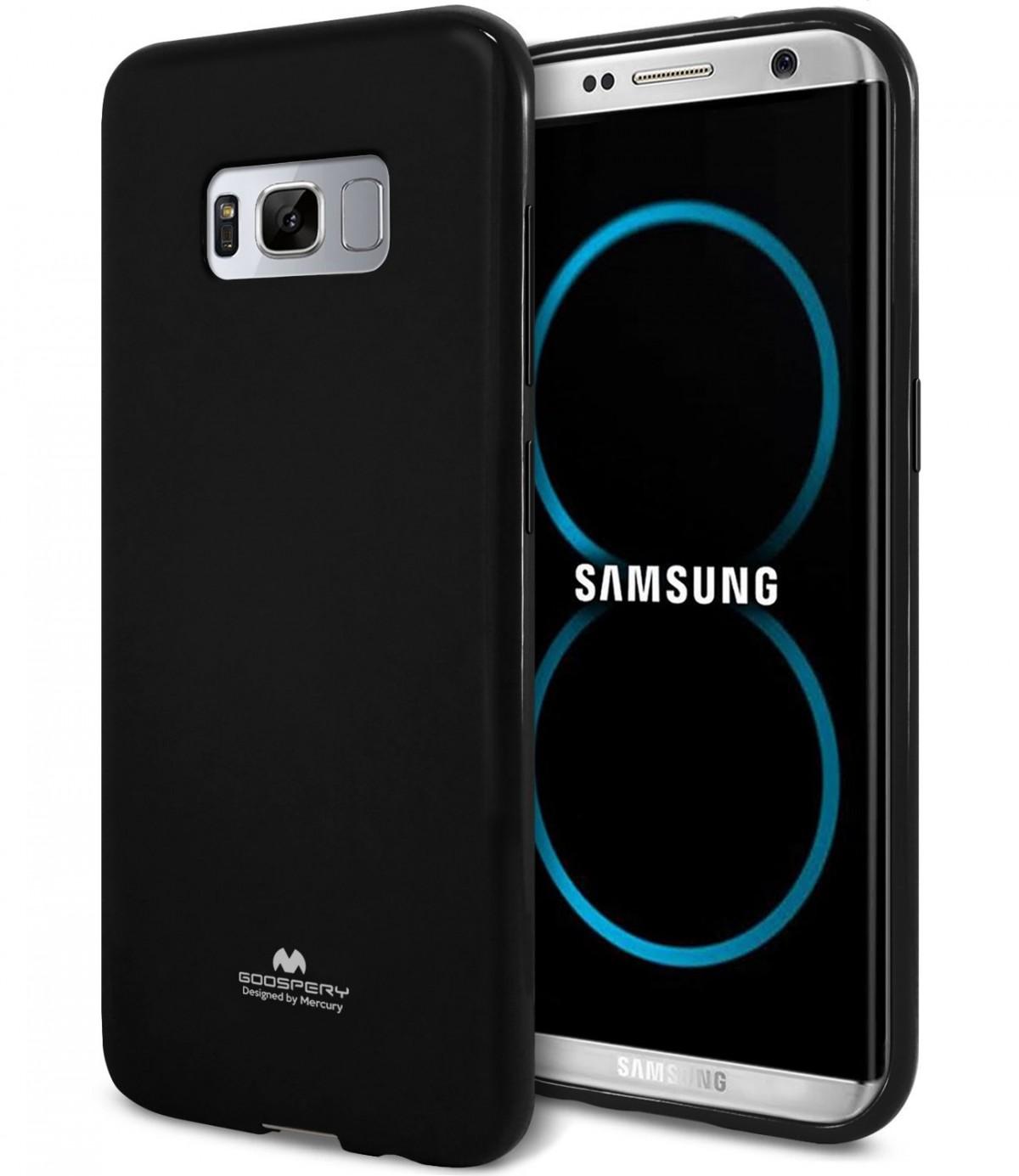 Silikonový bal / kryt / pouzdro Goospery Mercury pro Samsung Galaxy S8+ (S8 Plus) - Jelly Case - Černý