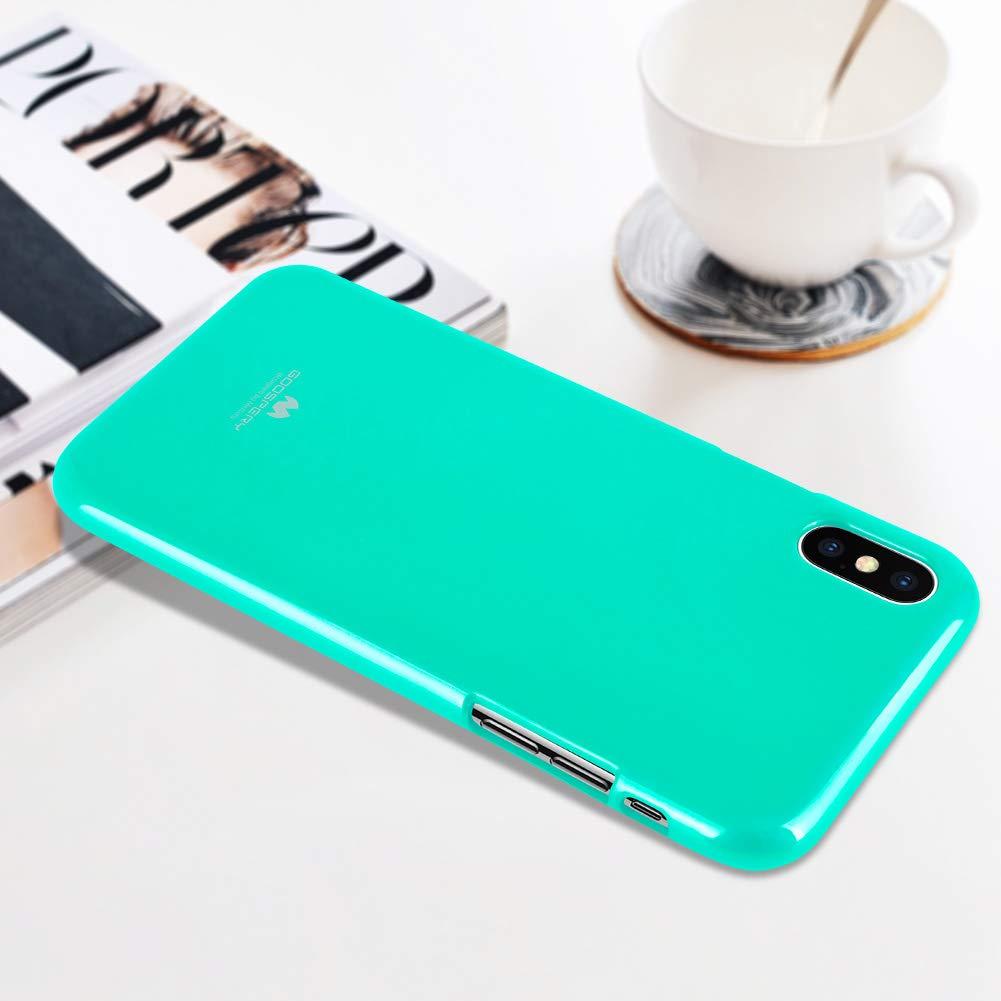 Pouzdro Mercury Pearl Jelly Case iPhone XS MAX - Mint