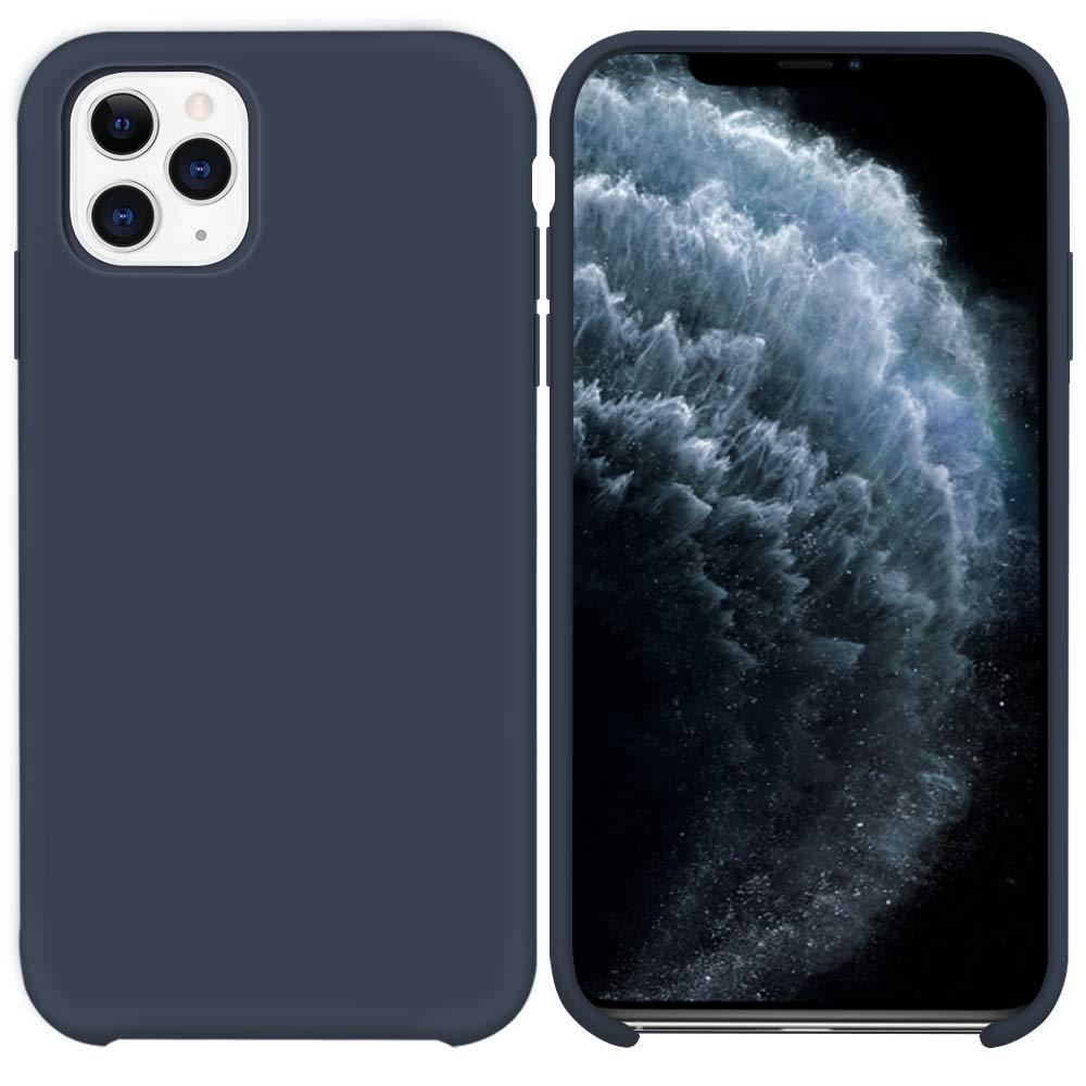 Pouzdro iMore Silicone Case iPhone 11 Pro - Půlnočně modrý