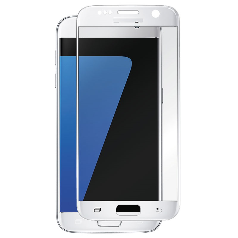 Celly Glass ochranné tvrzené sklo pro Samsung Galaxy S7 bílé GLASS590WH