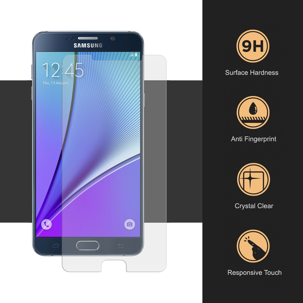 Ochranné tvrzené sklo 9H na displej pro Samsung Galaxy Note 5